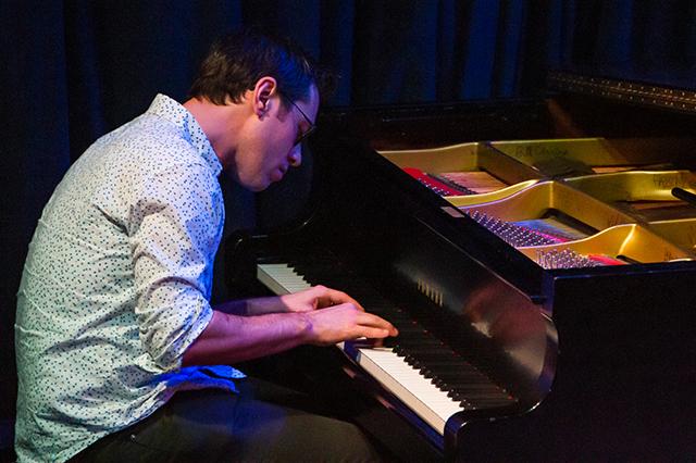 Bryan Nichols performing at the Dakota in November 2019.