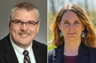 State Sen. Erik Simonson, Jen McEwen