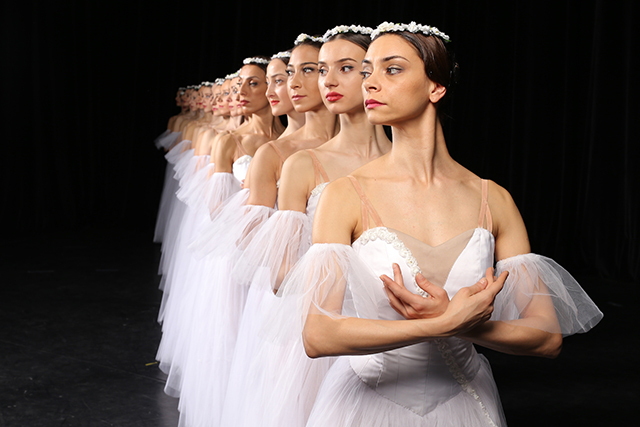 """State Ballet of Georgia performers in """"Giselle."""""""