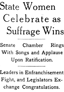 Minneapolis Tribune headline from Sept. 9, 1919.