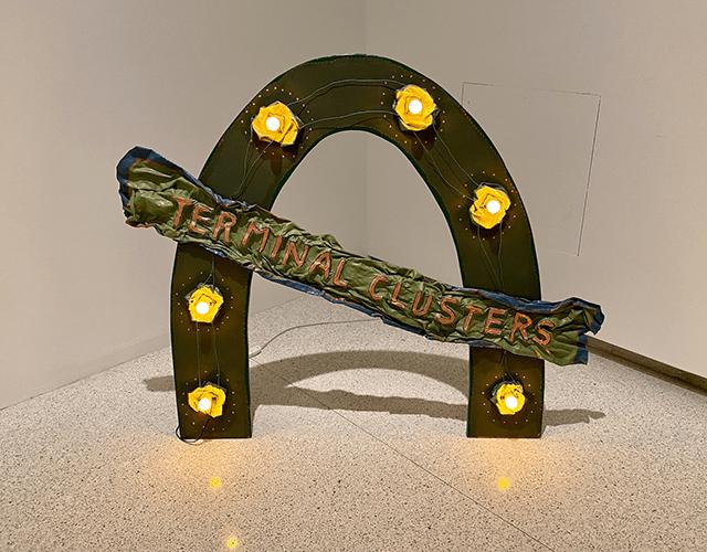 "Ree Morton, ""Terminal Clusters,"" 1974"