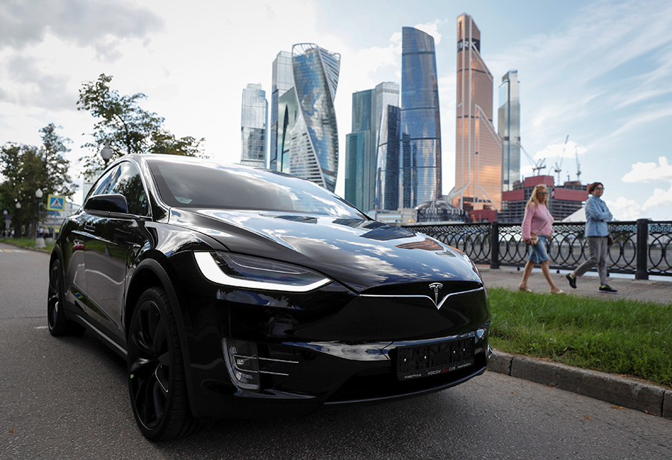 Tesla Model X electric vehicle