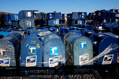 United States Postal Service mailboxes
