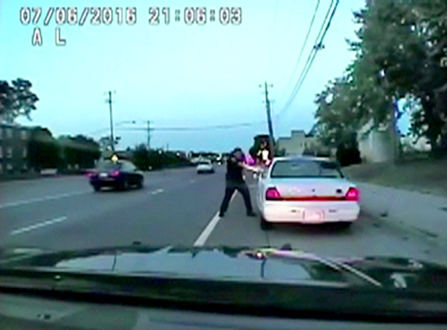 A still photo taken from a dashcam video shows the July 2016 police shooting of Philando Castile by officer Jeronimo Yanez.