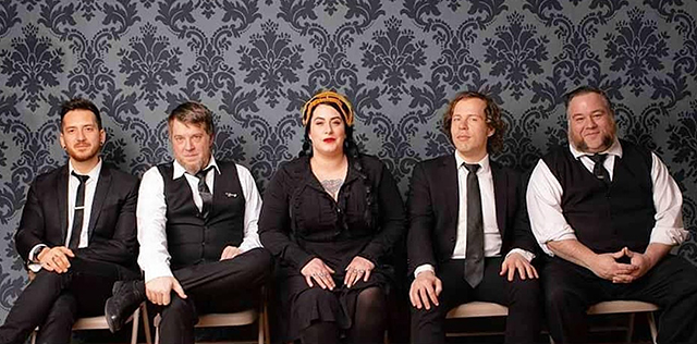 Davina and the Vagabonds perform next Wednesday and Thursday at Crooners.