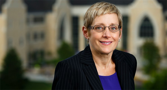 School President Julie Sullivan