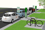 HourCar EV stations