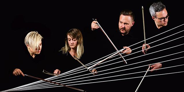 "Spektral Quartet will perform ""Enigma,"" a work for string quartet and video art."
