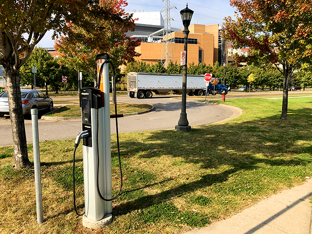 A widespread network of chargers throughout the central Twin Cities will especially help people with older, smaller-range EVs.