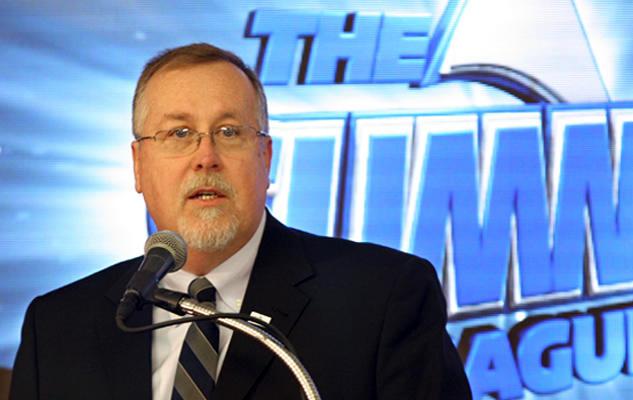 Summit League Commissioner Tom Douple