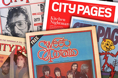 City Pages covers