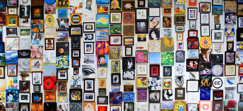 """""""Foot in the Door 5"""" will feature the work of 2,066 Minnesota artists ages 2 to 93. Everything submitted for inclusion had to fit within one cubic foot."""