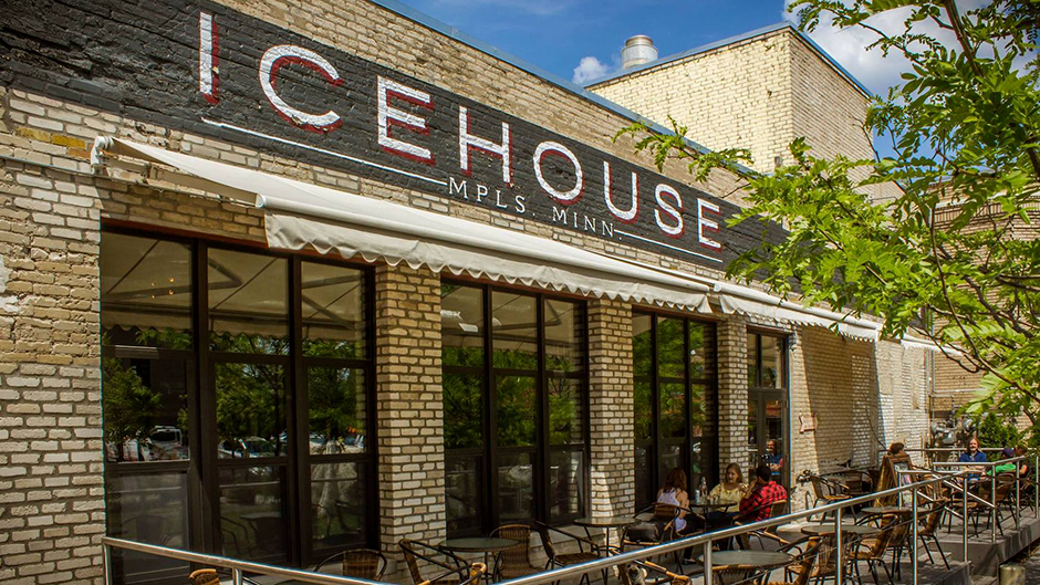 Icehouse, on 25th and Nicollet in Minneapolis, has a large outdoor courtyard. Concerts have been held there since June, with socially distanced seating and masks required.