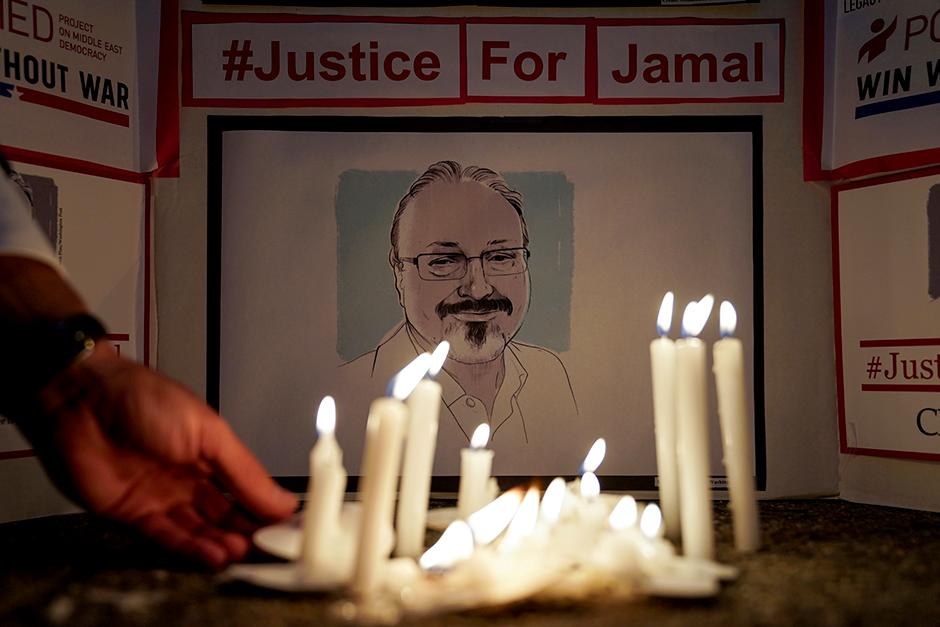 Jamal Khashoggi was assassinated at the Saudi Arabian consulate in Istanbul to silence his coverage of Saudi human rights abuses.