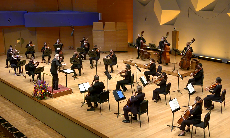 On Friday, the Minnesota Orchestra played their season premiere in Orchestra Hall.