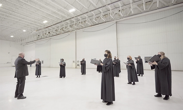 Under the direction of David Cherwien, the 64-member National Lutheran Choir will sing its annual All Saints concert online.