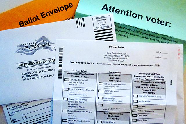 Official ballot