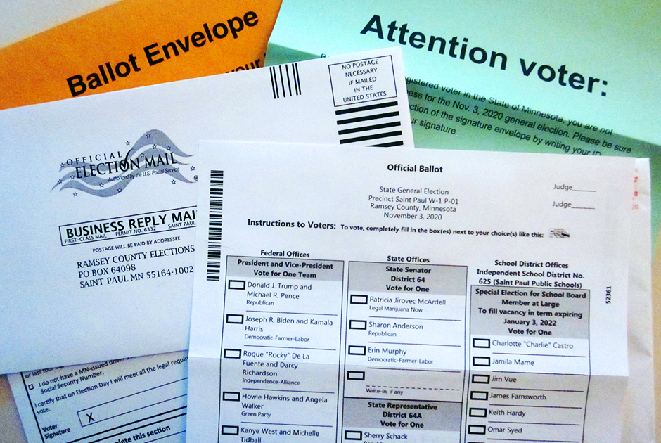 In a typical election year, Minnesotans who vote by mail are required to have the signature of a registered Minnesota voter or a notary on their ballot envelope in order for their vote to be counted. Minnesota and South Carolina are among several states in which this requirement was suspended for this election, owing to the pandemic.