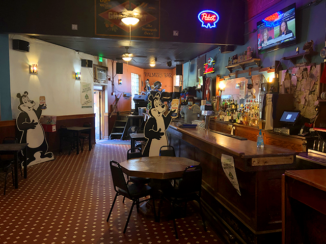 In Minneapolis' famous West Bank, Palmer's Bar re-opened its doors on July 31 after a rehab.