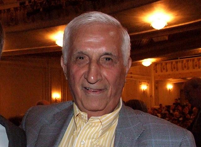 Sid Hartman shown in 2010
