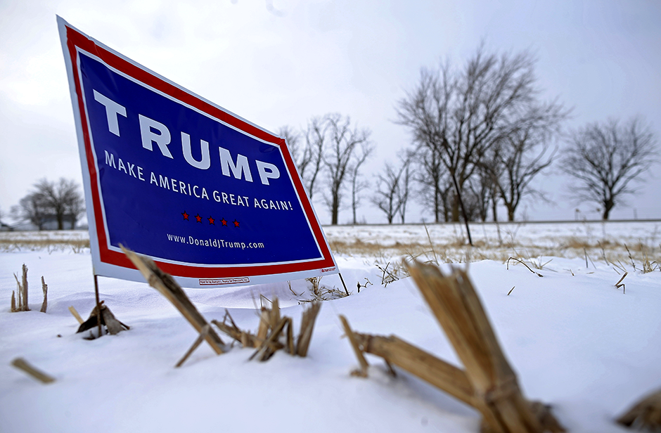 The poll found 54 percent of likely voters outside of the seven-county Twin Cities metro have a very or somewhat favorable view of Trump while only 36 percent of voters held a favorable view of Biden.
