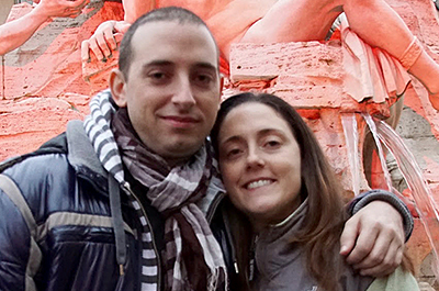 Jessica Cordova Kramer, right, pictured with her brother, Stefano Cordova