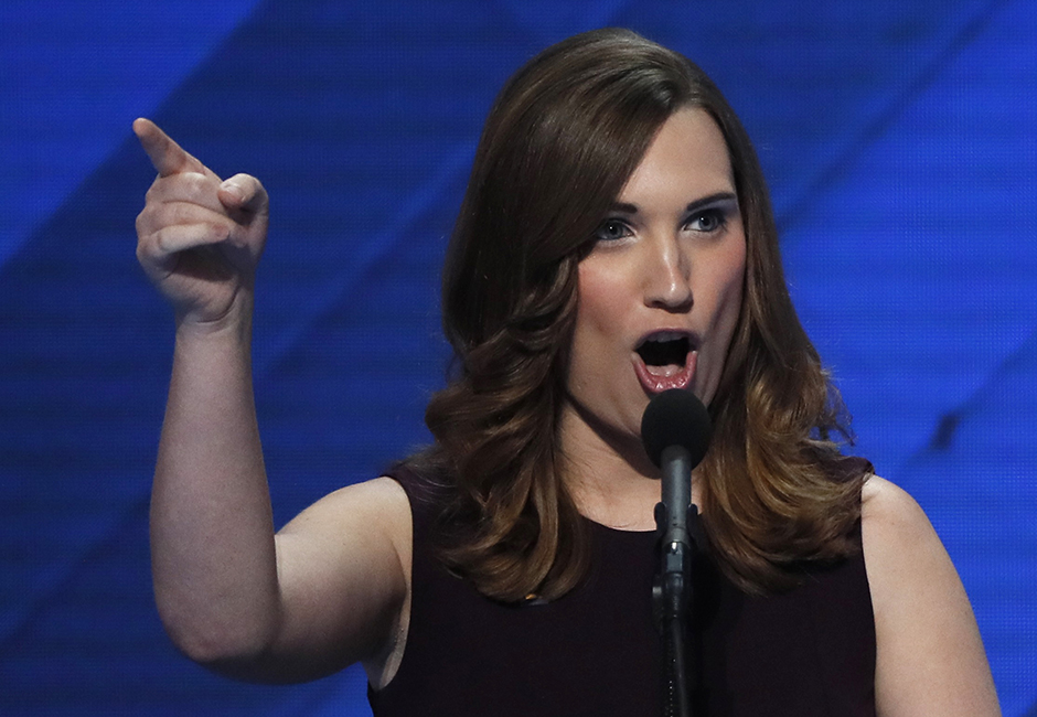 Democrat Sarah McBride made history on Tuesday when she won a state Senate seat in Delaware.