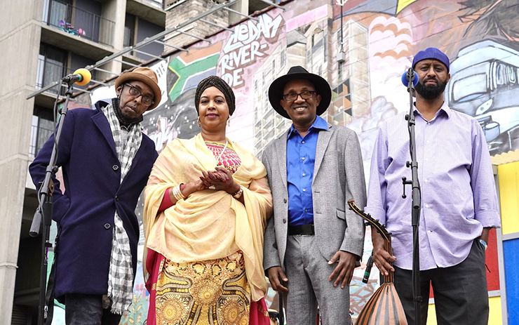 In September, the local Somali group Thunder Band was invited to record a performance for this year's virtual American Musicological Conference.