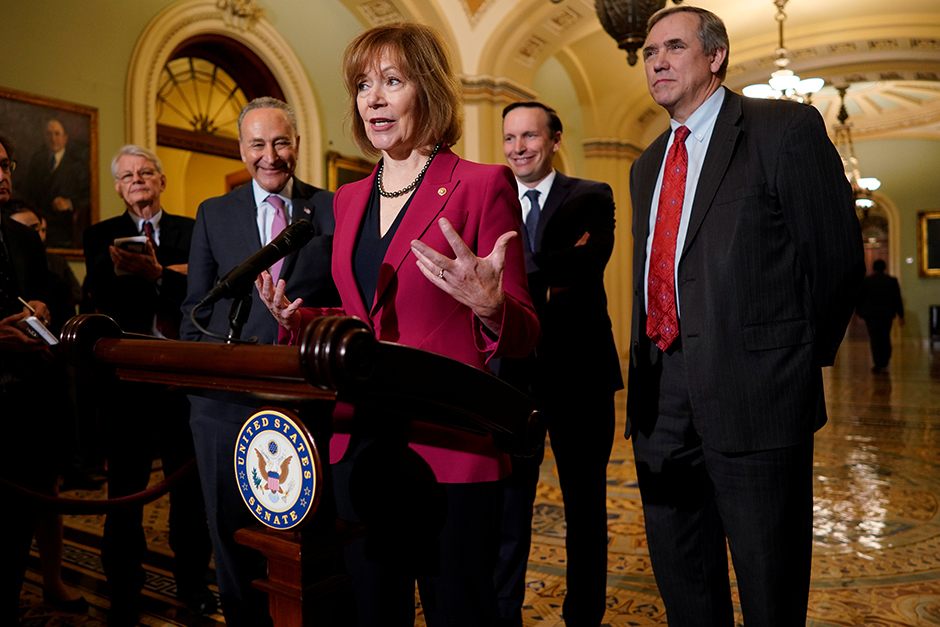 The Associated Press called the U.S. Senate race for Sen. Tina Smith around midnight on Election Day.