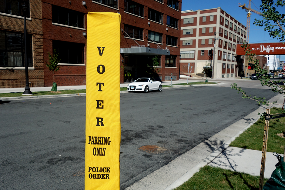 voter parking only
