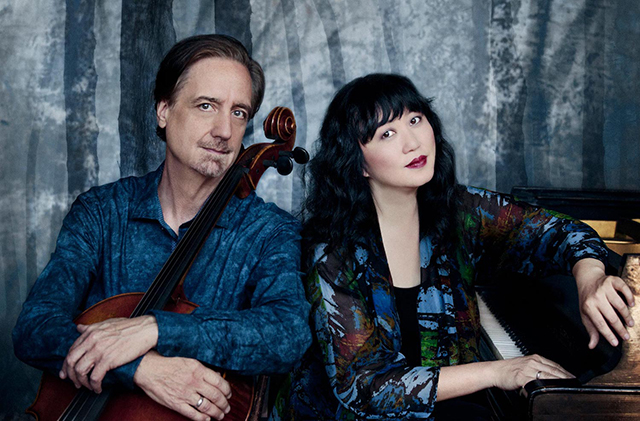 David Finckel and Wu Han will give the Beethoven birthday welcome.