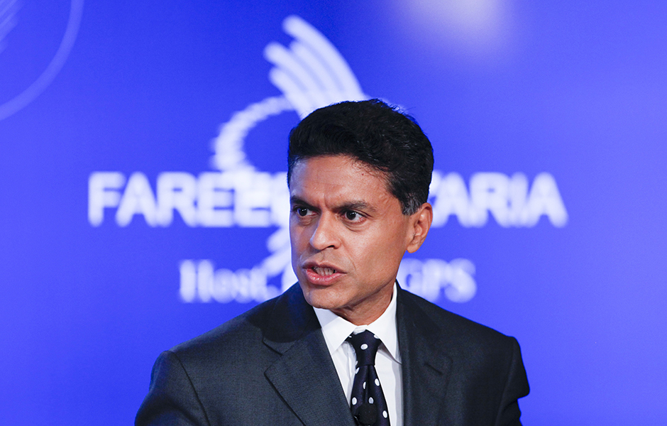 "Fareed Zakaria: ""For us, harsh treatment by white Americans is not the single searing experience that shapes our politics."""