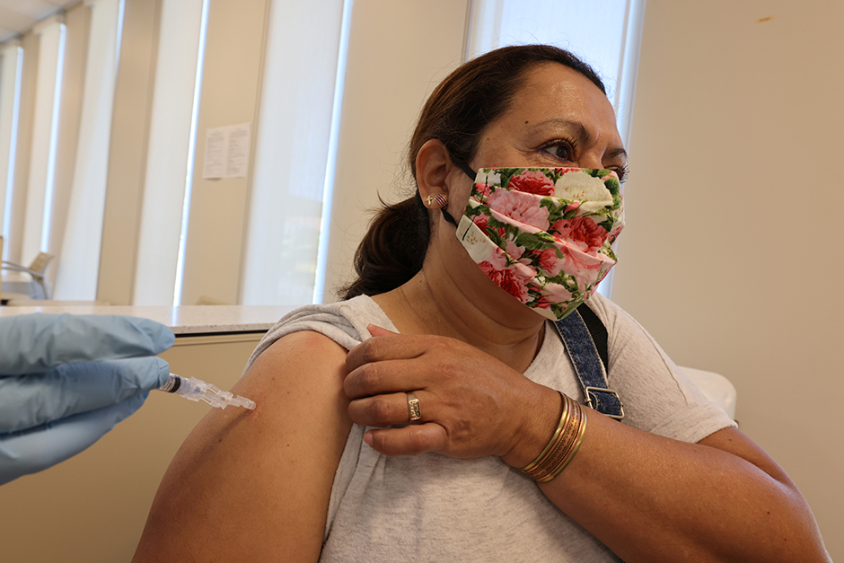 In addition to continuing to wear masks, socially distance and wash hands, doctors are encouraging people to get their flu shots and continue to follow public health recommendations.