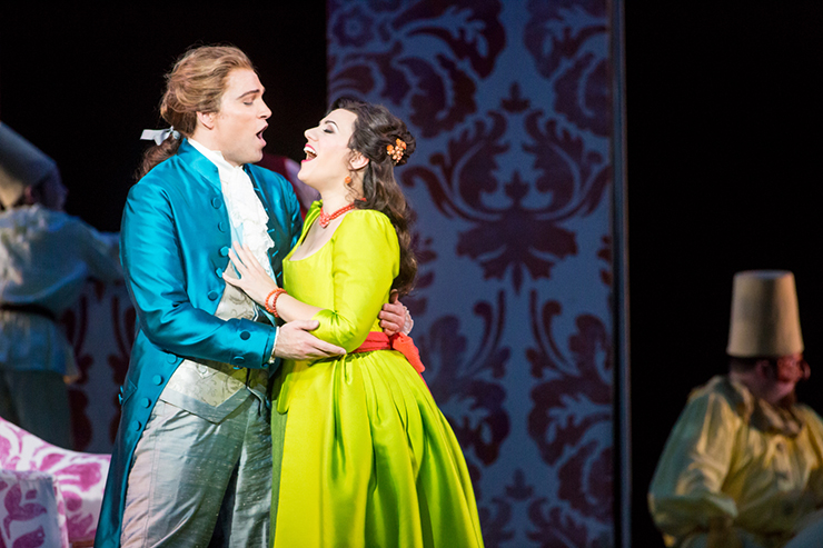 """An image from the Minnesota Opera's 2019 production of """"The Barber of Seville,"""" one of the audios that will stream on Classical MPR."""