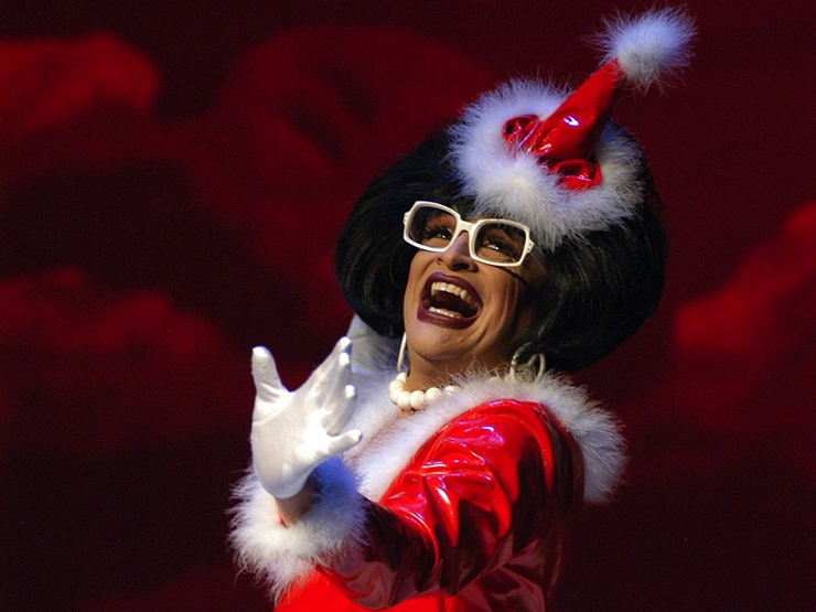 What would the holidays be without the outrageous Miss Richfield 1981?