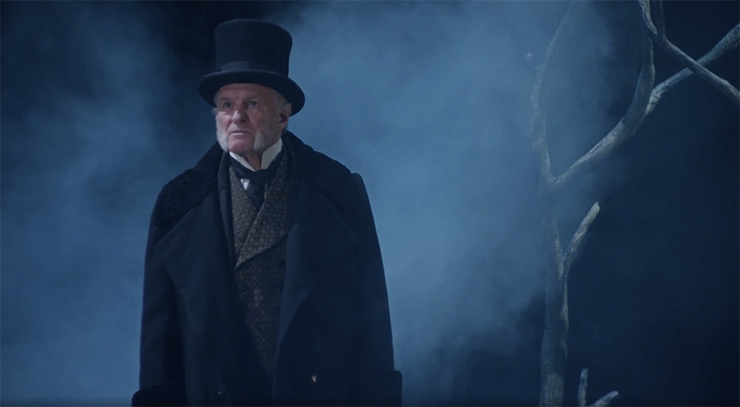 """Nathaniel Fuller in """"Dickens' Holiday Classic."""""""
