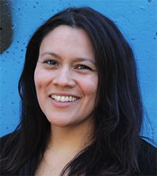 Rhiana Yazzi, artistic director of New Native Theatre