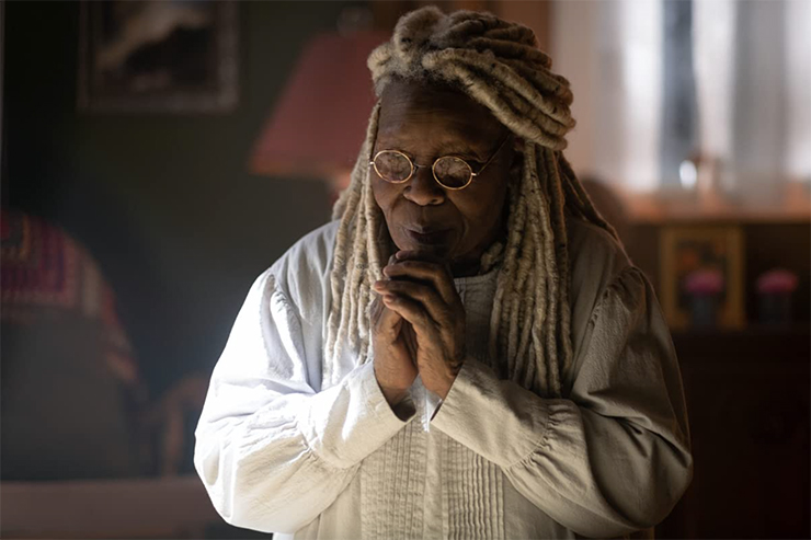 """Whoopi Goldberg in a scene from """"The Stand."""""""
