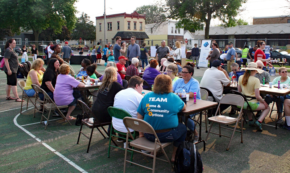 With support from Art of the Rural, a Winona neighborhood gathered in 2019 to celebrate its history and imagine its future.