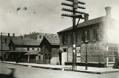 historic photo of buildings in st. paul