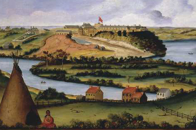 painting of pike island