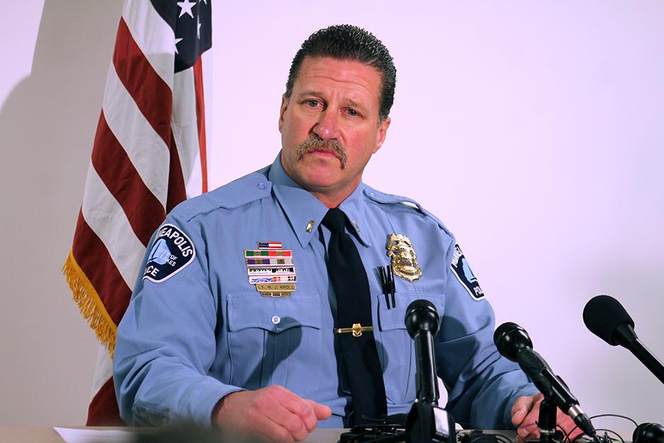 Police Officers Federation of Minneapolis President Lt. Bob Kroll