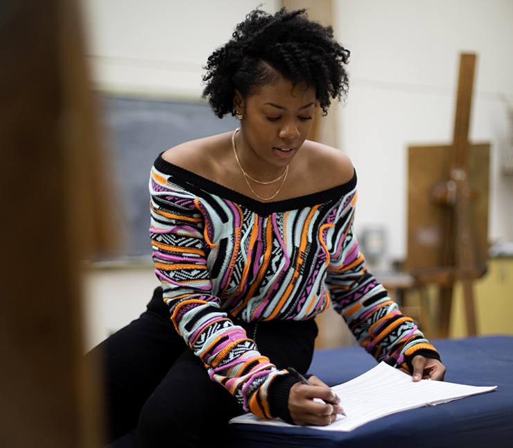 """Composer Daijana Wallace's duet for soprano and viola will have its world premiere at """"Outpost."""""""