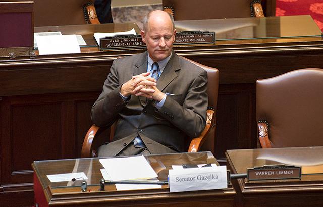 Senate Majority Leader Paul Gazelka