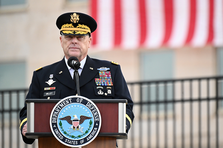 Chairman of the Joint Chiefs of Staff General Mark Milley