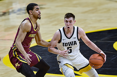 Golden Gophers vs. Iowa Hawkeyes