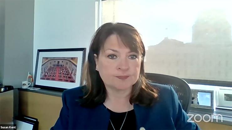 Senate Minority Leader Susan Kent