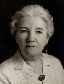 Laura Ingalls Wilder at 70