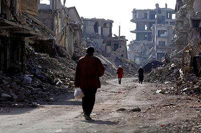 Yarmouk Palestinian refugee camp