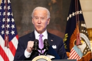 photo of joe biden speaking